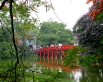 Cau The Huc - Red Bridge