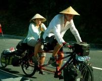 Tourists with Vietnam