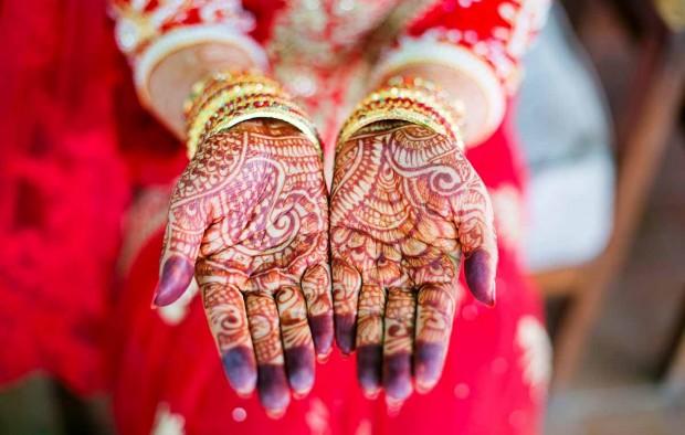 Bride's hand - Lumle holidays