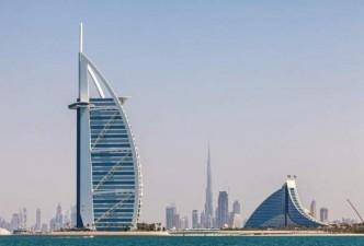 Dubai With Golden Triangle