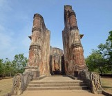 Lankatilaka,Buddhist temple ruins in Polonnaruwa,Sri Lanka