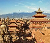 Durbar Square Nepal - View of the Patan Durbar Square. One of the 3 royal cities in Kathmandu, a very popular tourist place.