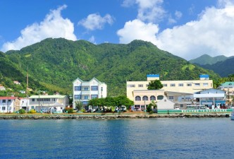 Cap Maison and Pitons