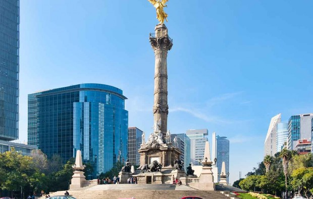The Angel of Independence in Mexico City - Lumle holidays
